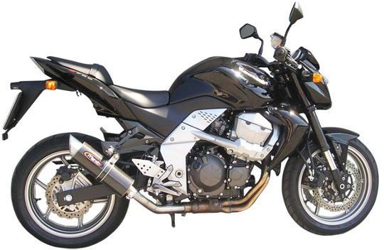 Picture of Marving Kawasaki Z 750 07 Silencer - SLASH Line - Carbon Fibre