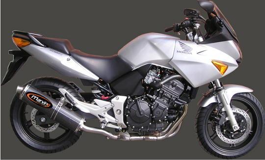 Picture of Marving Honda CBF 600 04-05 Silencer - SUPERLINE Oval - Carbon Fibre