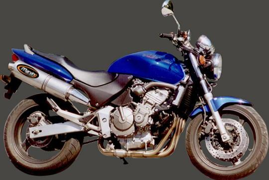 Picture of Marving Honda CB 600 F Hornet 00-02 Silencer - SUPERLINE Oval - Titanium