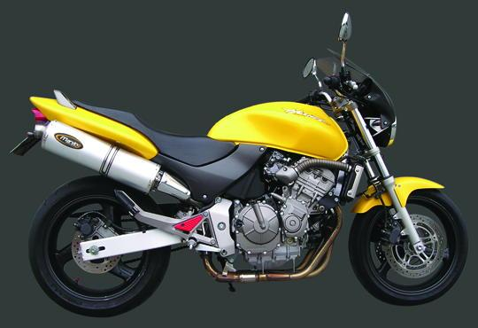 Picture of Marving Honda CB 600 F Hornet 03-05 Silencer - SUPERLINE Oval - Aluminium
