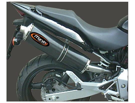 Picture of Marving Honda CB 600 F Hornet 03-05 Silencer - SUPERLINE Oval - Carbon Fibre