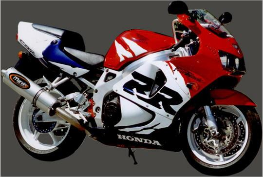 Picture of Marving Honda CBR 900 RR 96-99 Silencer - SUPERLINE Oval - Titanium