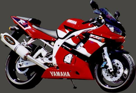 Picture of Marving Yamaha YZF 600 R6 99-02 Silencer - SUPERLINE Oval - Aluminium