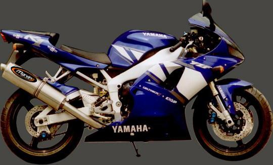 Picture of Marving Yamaha YZF 1000 R1 02-03 Silencer - SUPERLINE Oval - Titanium