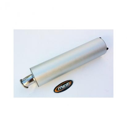Picture of Marving Kawasaki ZX 9R 98-01 Silencer - SUPERLINE Oval - Aluminium