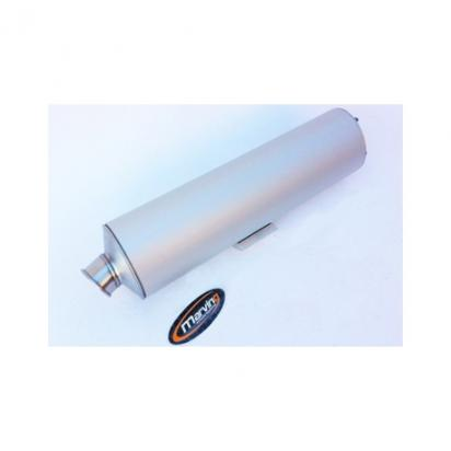 Picture of Marving Kawasaki ZX 9R 9 02-03 Silencer - SUPERLINE Oval - Aluminium