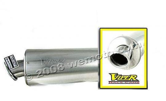 Picture of Viper Exhaust Can Alloy Round Kawasaki