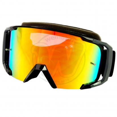 Picture of Goggles S-Line Off Road with Tearoff pins - Black / Grey with Iridium Screen
