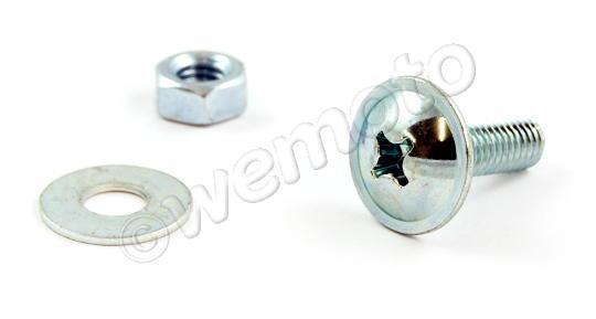 Picture of Fairing Screw M6 x 18mm Chrome