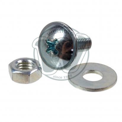 Picture of Fairing Screw Metric M5 x 13mm Chrome