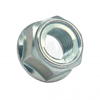 Picture of Nut Flanged - Metal Locking M14 Uses 22mm Spanner 1.50mm pitch as Honda 90305-GE8-003 MA1-003