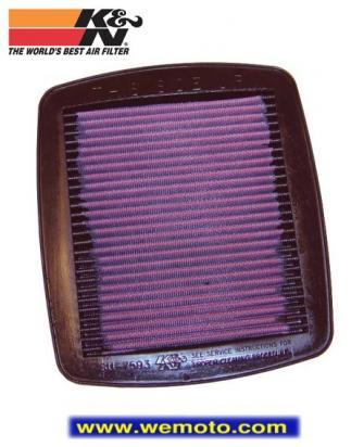Picture of K&N Air Filter Suzuki GSF600/1200 Bandit GSXR750WN-WS GSXR1100 WP-WT