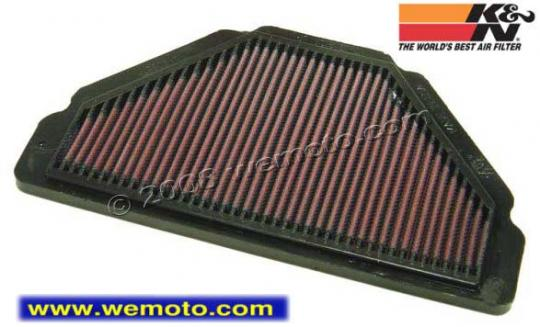 Picture of K&N Air Filter Kawasaki ZX6-R F Models 1995-97