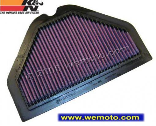 Picture of K&N Air Filter Kawasaki ZZR1100 D1-D5 1993-97