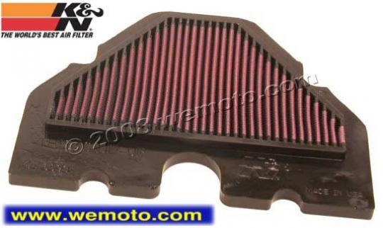 Picture of Kawasaki ZZ-R 400 (ZX 400 N1) 93 Air Filter K&N - Performance and Washable