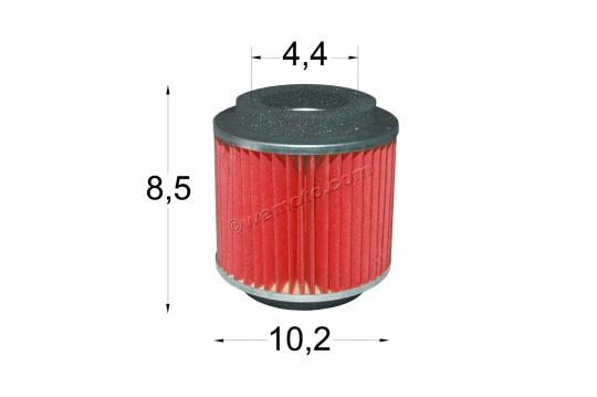 Picture of Italjet Millenium M 100 00 Air Filter