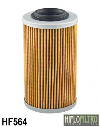 Hiflo Oil Filter HF564 Aprillia 1000CC models (Use with Exteneded Oil filter housing) ,Buell 1125R/CR, Can-Am Spyder