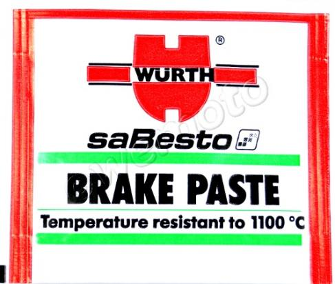 Picture of Brake Paste 5.5g Wurth