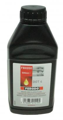 Picture of Kawasaki ZXR 750 / Ninja ZX-7 (ZX 750 L1-L3) 93-95 Dot 4 Hydraulic Fluid 500 ml - Ferodo