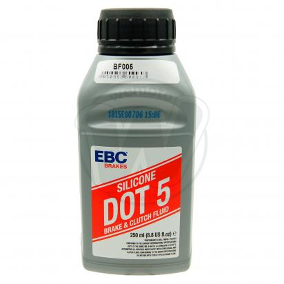 Picture of Brake & Clutch Fluid - EBC - Dot 5 Silicone 250ml