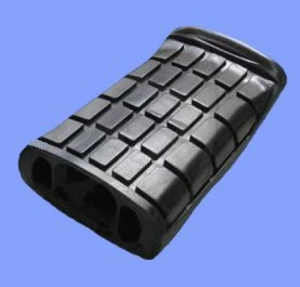 Picture of Footrest Rubber Front