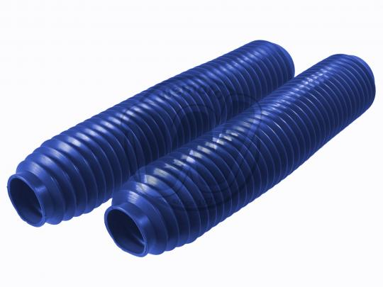 Fork Gaiters 345mm Long - 40mm ID Top - 60mm ID Bottom - Blue Extra Large