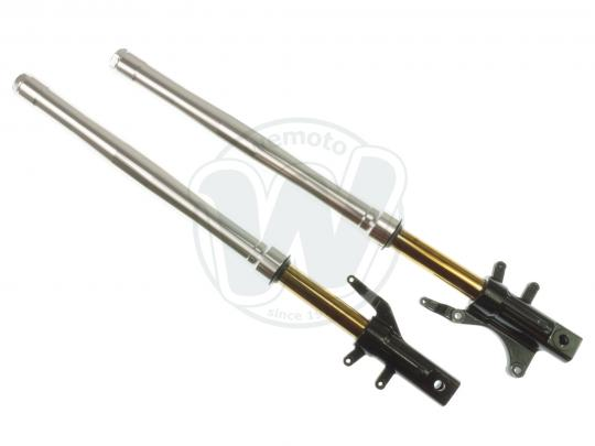 Picture of Fork Leg Set (Left And Right H.S.) - Silver Outer Tubes - Honda MSX 125 Grom 2013-2015