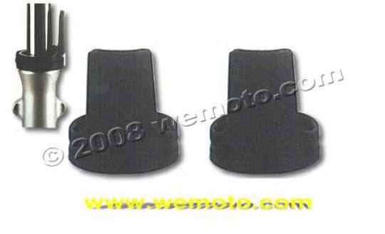 Picture of Fork Protectors Pair in Black Universal