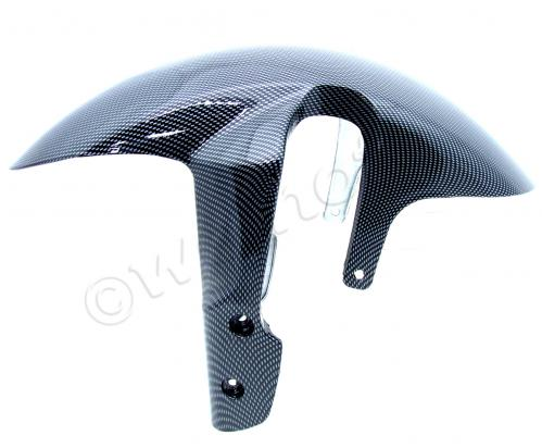 Picture of Front Mudguard - Carbon Fibre Effect - Tenshi