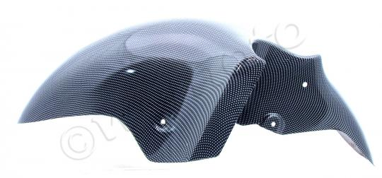 Picture of Front Mudguard - Kawasaki ZX12-R 2000-2006 - Carbon Fibre Style