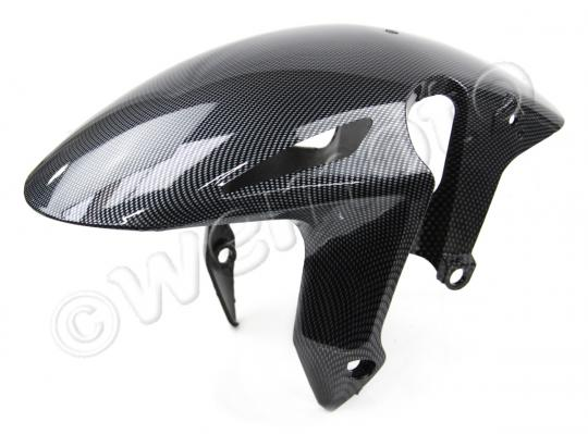 Picture of Front Mudguard - Honda CBR1000RR Fireblade 2008-2014 - Carbon Fibre Style