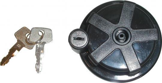 Fuel Cap with Spare Key