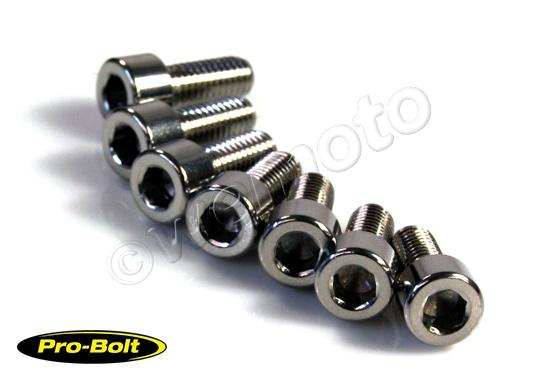 Picture of Fuel Cap Fixing Kit - Stainless Steel (Pro-Bolt)