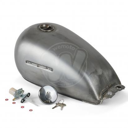Picture of Fuel Tank Suzuki GN125 Unpainted - Pattern