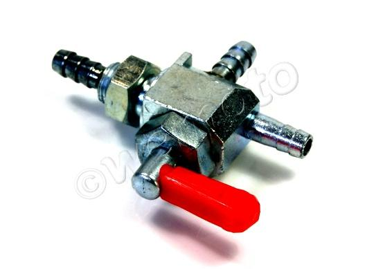 Picture of Petrol Tap - In-Line 6mm with 26mm outlets