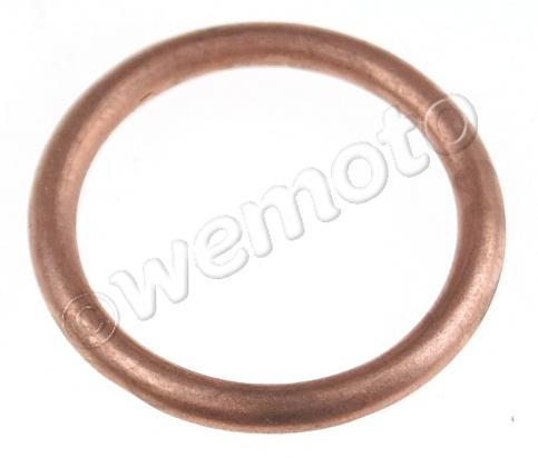 Picture of Yamaha DT 125 LC1 Type 26G 83 Exhaust Gasket Front - Copper