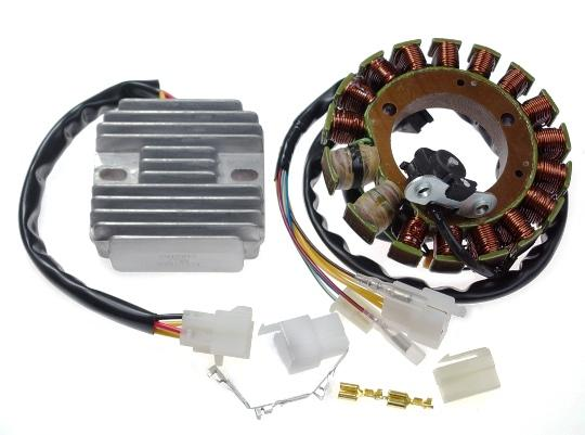 Picture of 3 Phase Generator and Regulator Rectifier Set forHonda XR400 XR650