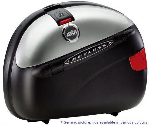 Picture of Givi Pannier Pair E41NN Keyless Black Embossed Lids