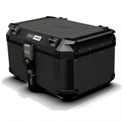 Givi Trekker Outback Black  top-case  58 lt (to fit Monokey plates)
