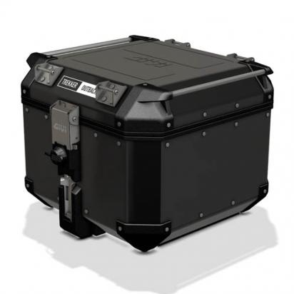 Picture of Givi Trekker Outback Black top-case  42 lt (to fit Monokey plates)