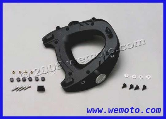 Monorack Top Plate M5 in Nylon with fitting Kit for Monokey Top Cases