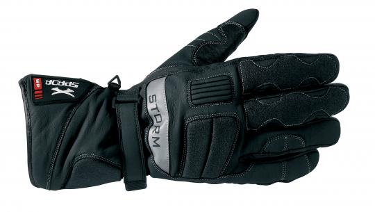 Picture of Spada Gloves Storm WP Black  - Leather Waterproof Thinsulate - Medium