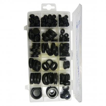 Picture of 125 Piece Rubber Grommet Assortment