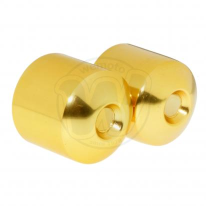 Picture of Handlebar End Weight Cover Honda CBR 400 RR - Gold