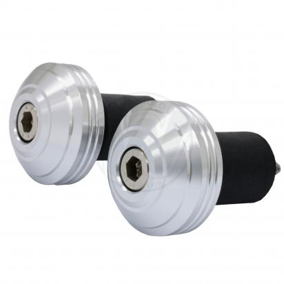 Picture of Universal Handlebars End Weights - 17.5 mm - Silver