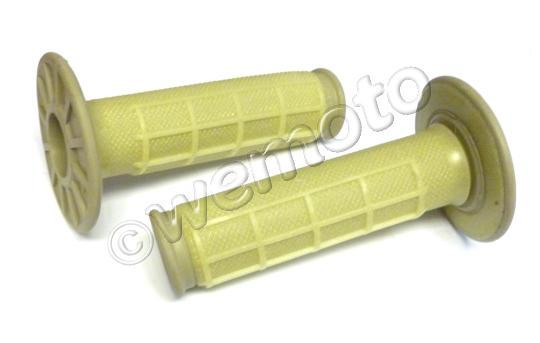 Picture of Renthal Handlebar Grips - MX Type - Dual Compound - Kevlar (Half Waffle)