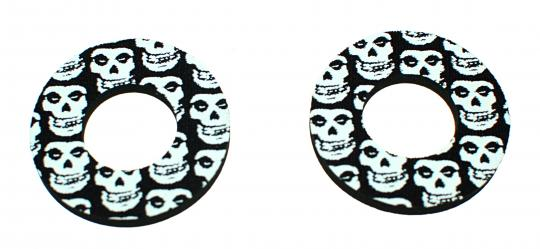 Picture of Handlebar Donuts For Grips Skull