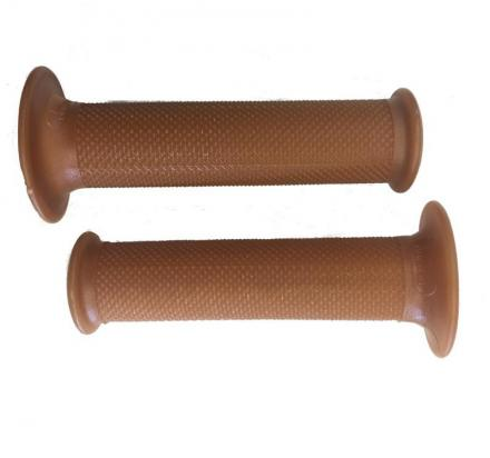 Picture of Domino Handlebar Grips Natural - Cafè racer 22mm