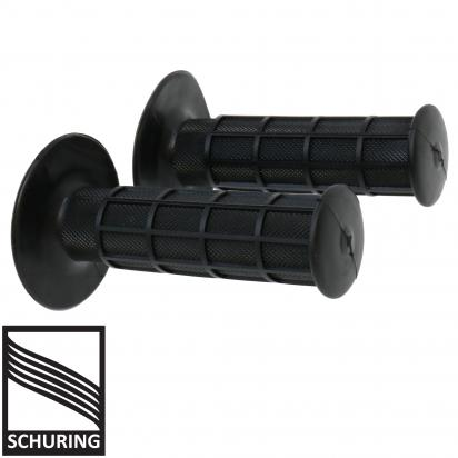 Picture of Handlebar Grips MX full Waffle Style Black for 7/8 STD Bars
