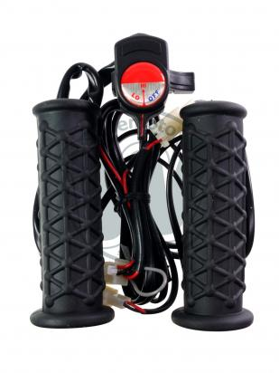 Picture of Heated Handlebar Grips Standard Bars (7/8 inch ) - Handlebar Mounted Temperature Unit  - Recommended